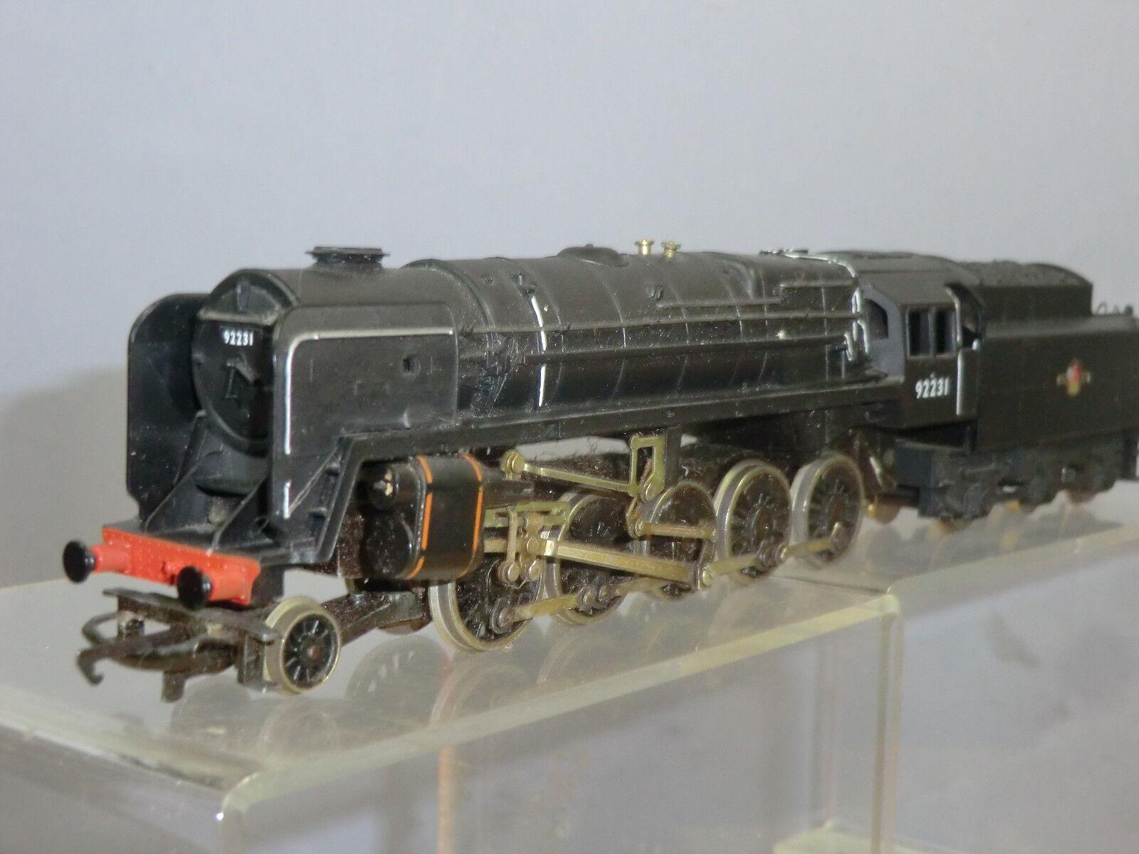 HORNBY järnvägWAYS modellllerL R.330 BR KLASS 9F 2 -10 -0 nr.92231 LOCO OCH TEN