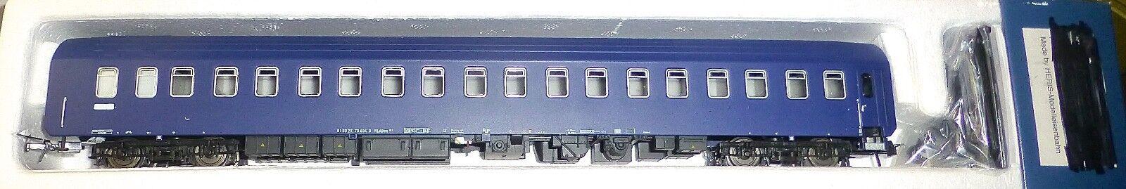 WLABsm Schlafwagen 61 80 75-70 404-8 HERIS 11282 H0 1 87 B2B2 å
