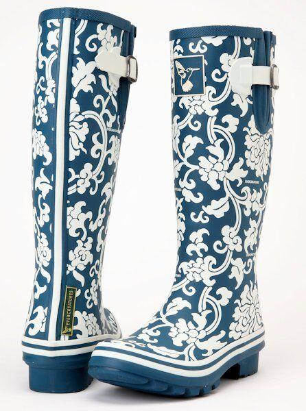 Ladies Wellies Winter Boots Rain Boots Designer Evercreatures Rubber Wellingtons