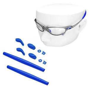 8e24affc8dd4 Details about Oowlit Navy Kit Replacement Ear Socks   Nose Piece for-Oakley  Juliet Sunglass