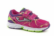 Joma Sport Girls Tornado JR 504 Navy//Pink Trainers Shoes Various Sizes BNIB
