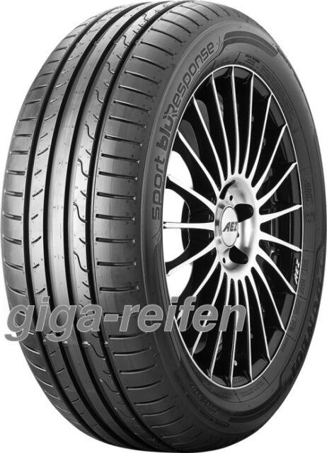 2x Sommerreifen Dunlop Sport BluResponse 195/60 R15 88H