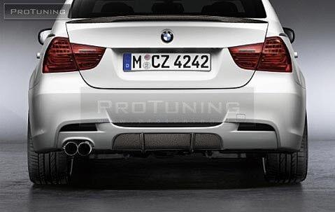 BMW 3 Series E90 E91 Performance Diffuser For Rear M Sport bumper