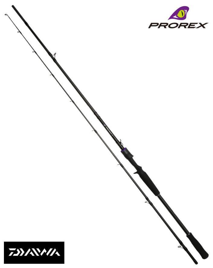 NUOVO Daiwa prorex XR baitcasting Spinning Rod Pike Predator tutti i modelli disponibili