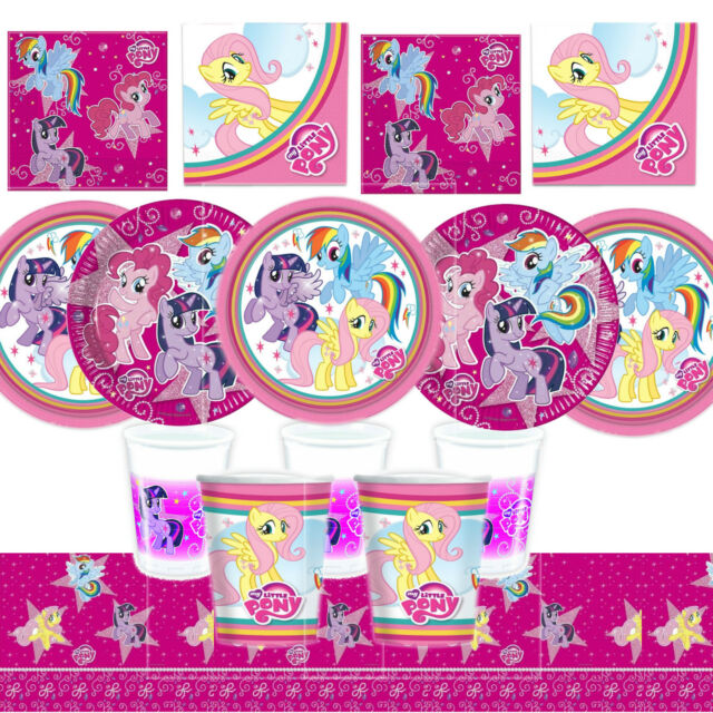 My Little Pony Birthday Party Tableware, Plates, Cups, Napkins, Party Kits!!!!