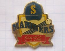 COCA-COLA / MLB / BASEBALL / SEATTLE MARINERS  ...........Sport Pin (135d)