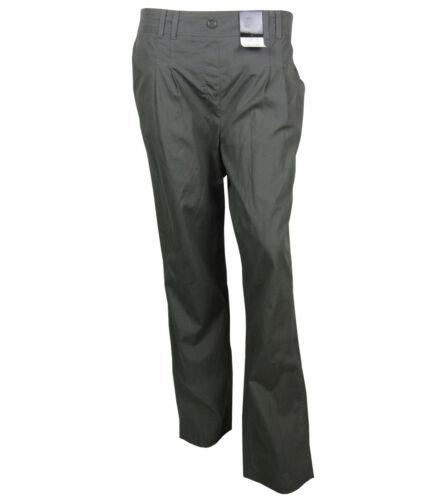 Ladies Ex Bon Marche Trousers Grey New All Size Women Bottoms 12-24