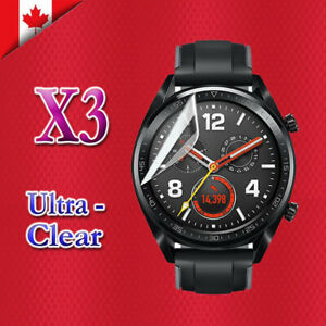 3X-Ultra-Clear-Hydrogel-Flex-Screen-Protector-Film-Guard-For-Huawei-Watch-GT