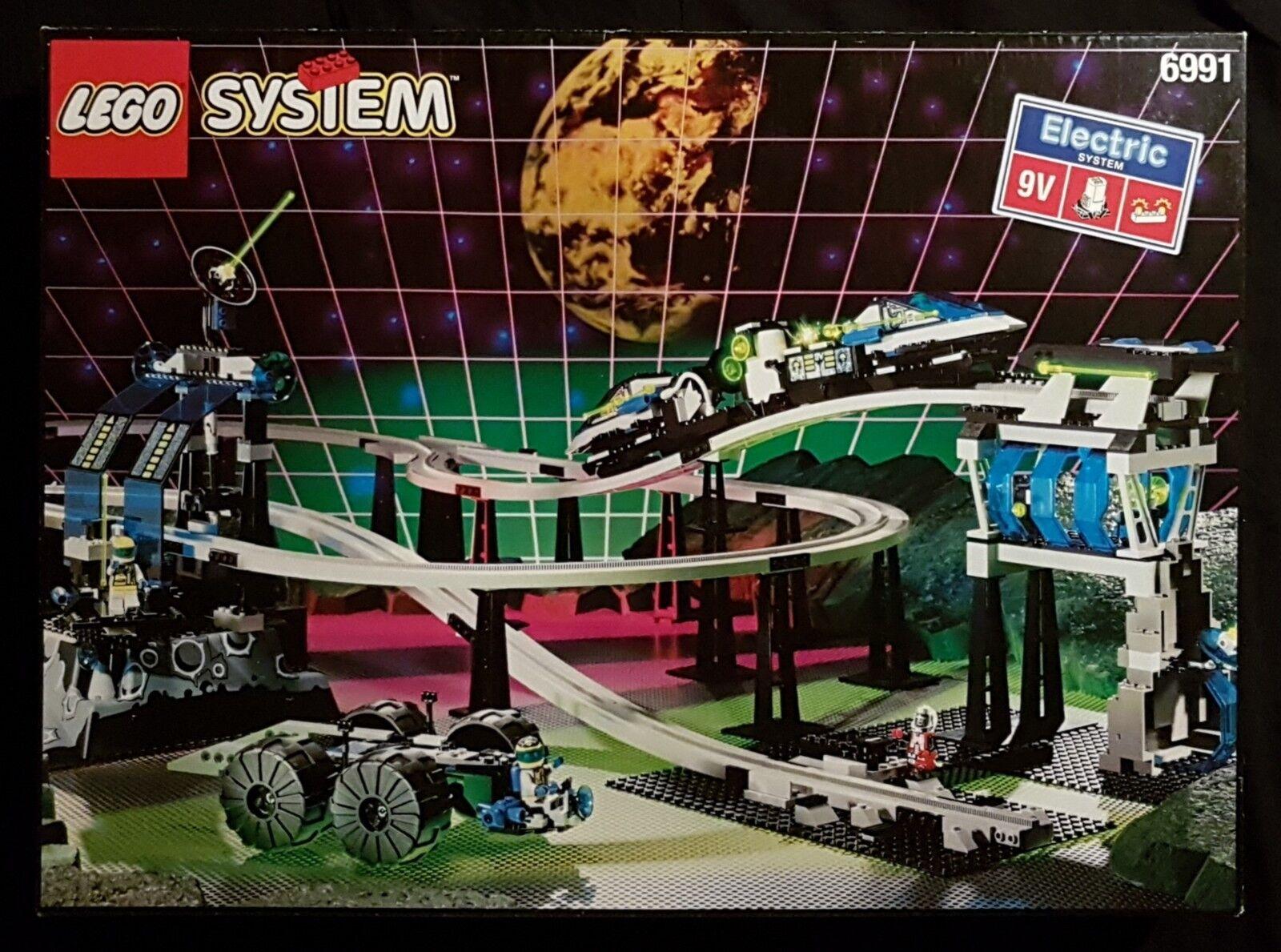 Lego 6991 - Monorail Transport Base - - - 1994 Unitron Space Classic - 90s Vintage dafc79