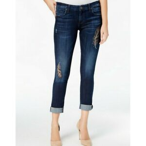 KUT-FROM-THE-KLOTH-NEW-Women-039-s-Catherine-Embroidered-Boyfriend-Jeans-TEDO