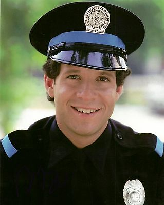 ++Police Academy++ +Autogramm+ Steve Guttenberg