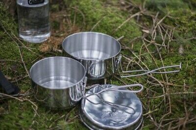 Gastfreundlich Helikon Tex Mess Tin Outdoor Camping Wilderness Stainless Edelstahl Kochtopf Set