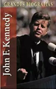 John-F-Kennedy-Grandes-biografias-series-Spanish-Edition-Hardcover-New