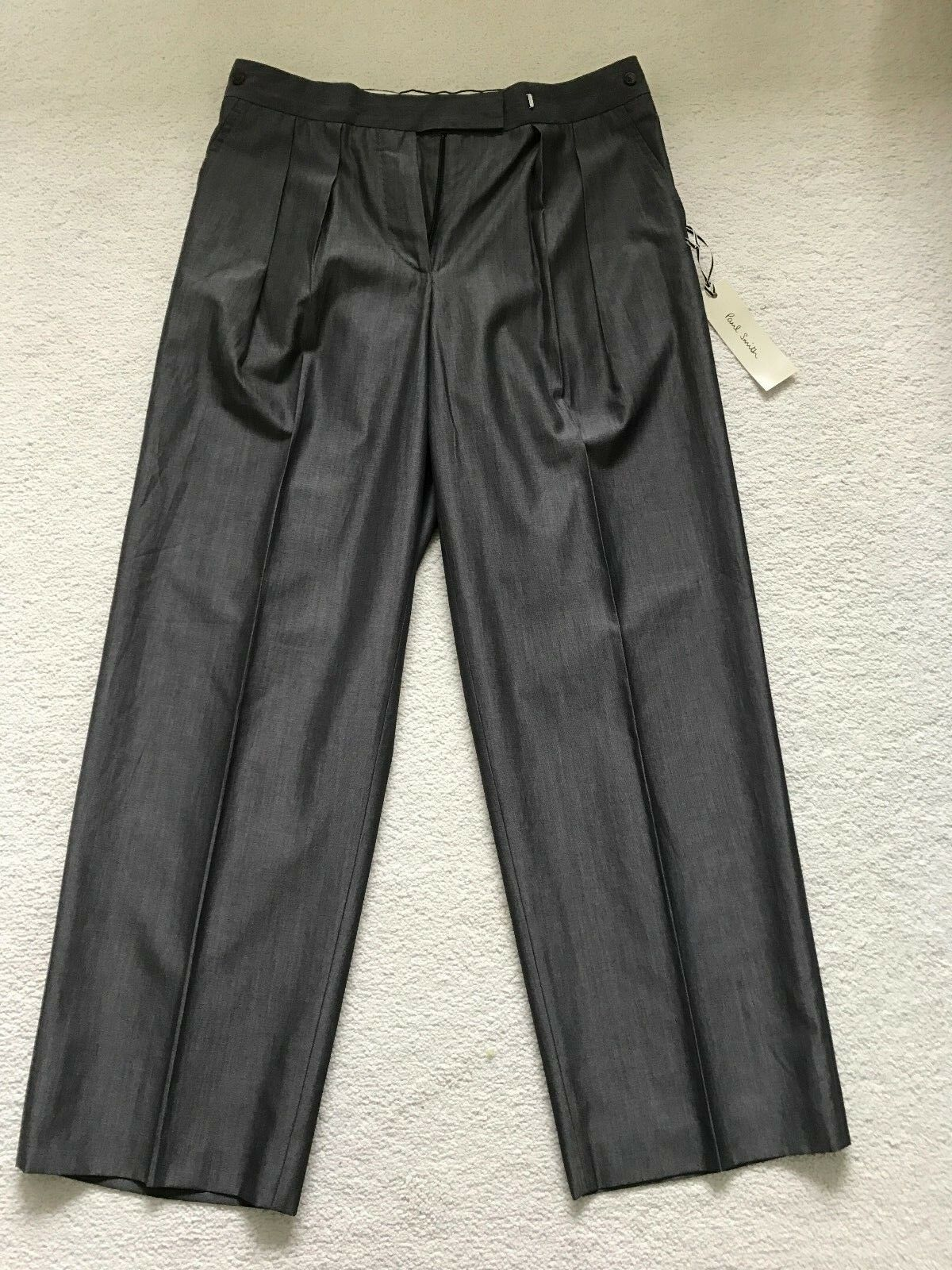 Paul Smith Taupe Ladies Trousers - Size 42 - Made in  - BNWT