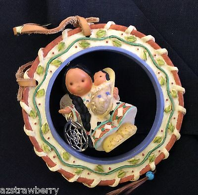 Friends of Feather Enesco 1998  Angel w Baby Dreamcatcher Figurine Ornament NWB