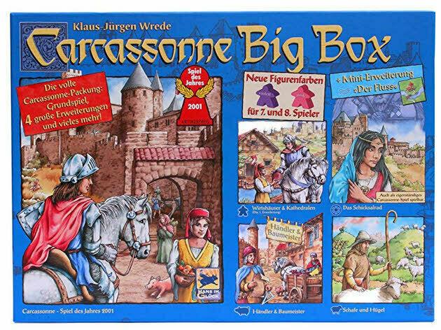 Carcassonne Big Box 2014 - NEU   OVP