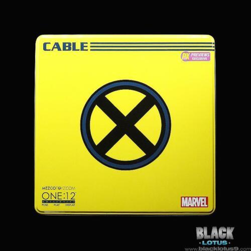 Mezco Toyz CABLE X-Force Classic X-MEN Marvel PX One:12 Collectif EN STOCK