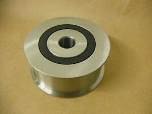 STEEL-FLANGE-IDLER-PULLEY-3-3-4-OUTER-DIA-1-1-2-WIDTH-3-4-034-BORE