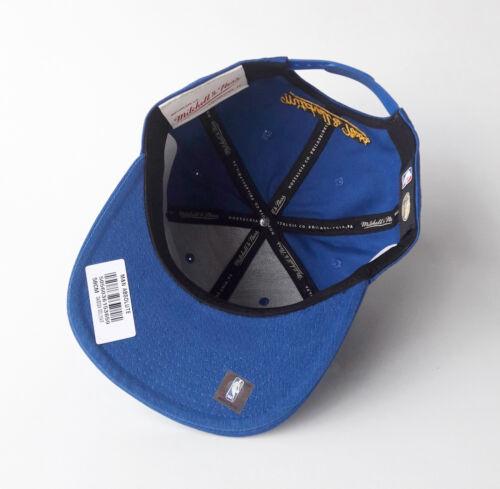 Mitchell /& Ness Snapback Basecap Golden State Warriors NBA blu