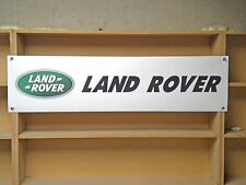 Land Rover Workshop Garage PVC Banner LANDROVER 4X4