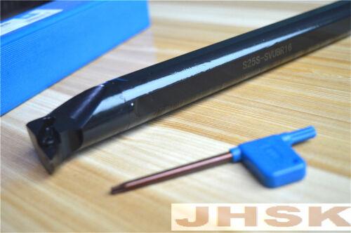 S25S-SVUBR16  Lathe Turning Tool Boring Bar Holder 25*250 for VBMT1604// VBGT1604
