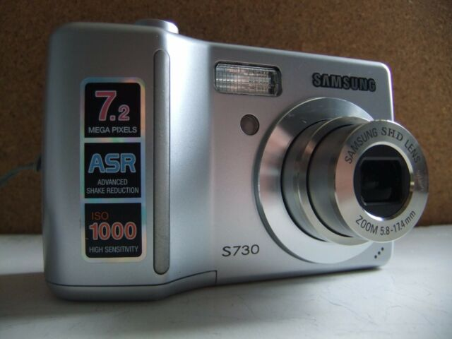 samsung digimax s730 7 2mp digital camera silver ebay rh ebay co uk samsung digital camera s730 user manual Samsung S730M