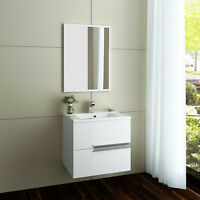 Bathroom Vanity Unit Basin Sink Storage Cabinets Furniture White Gloss Oak