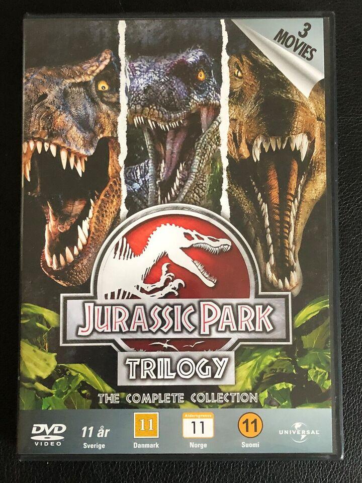 Jurassic Park triologien, DVD, eventyr