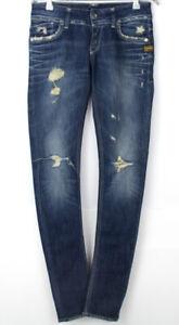 G-STAR RAW Women Lynn Skinny Slim Stretch Jeans Size W27 L32