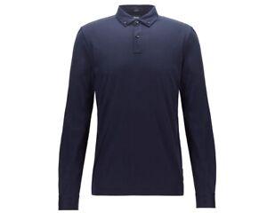 Hugo-Boss-extendedoras-de-manga-larga-12-50413037-402-Camiseta-Polo-para-hombre-Azul-Superior