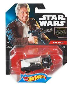 Hot Wheels Star Wars character cars twin packs /& singles multi list Han Solo etc