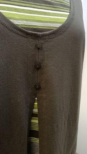 Shirt Gestreift Gr One 3 einsatz Knöpfchen Studio In damen Two Borgelt 40 rzRyrwqt