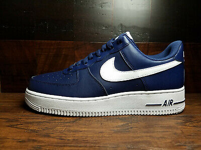 SALE NIKE AIR FORCE 1 LOW MIDNIGHT NAVY WHITE 488298 436 SZ 8-13 NEW