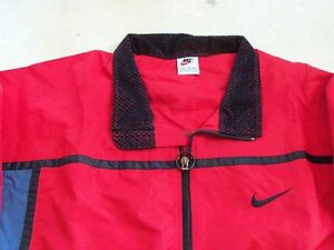 best sell lowest price new york Details about NIKE Teflon protected Microfiber Windbreaker SZ; XL 1996 Dead  Stock NEW,