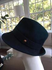 Diesel Cuinn Hat cap 100% wool teal/blue Size 11
