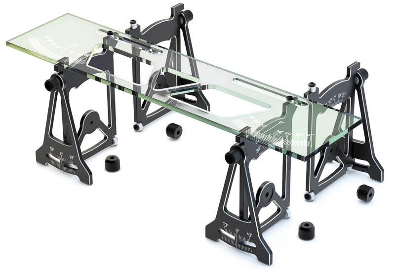 Skyrc einstelllehre Setup Tool negro sk600069-01 Hudy Setup 1 10