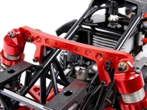 Rear Upper lower Suspension arm shock for baja 5b HPI CNC Alloy Extended Front