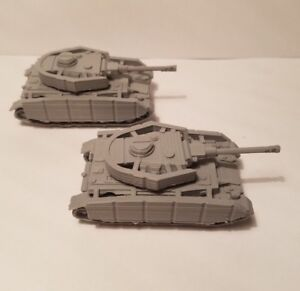 1-72-1-100-1-200-panzer-4-full-skirt-x2-Scale-3d-Printed-WW-II-Model-Tank