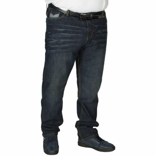 """MENS BIG /& TALL KAM RORY BELTED STRETCH STRETCHY STRETCHABLE JEANS 40 TO 48/"""""""