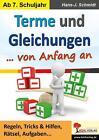 Terme und Gleichungen von Anfang an von Hans-J. Schmidt (Taschenbuch)