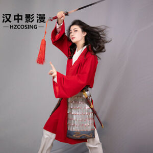 2020 Movie Hua Mulan Cosplay Costumes Princess For Women Girls Halloween Belt Ebay