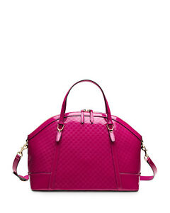 3e7a13bab31 Image is loading NWT-Gucci-Nice-Microguccissima-Patent-Leather-Top-Handle-