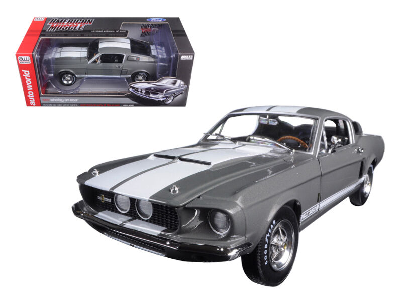 1967 shelby mustang gt350 50. jahrestag druckguss - 1,18 autoworld amm1060