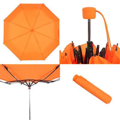 Paraguas Compacto de la bolsa Apertura Manual Plegable Funda Varios Colores