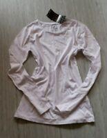 Schönes Longshirt NEU weiss Shirt Tunika T-Shirt 170 176 36 S