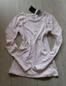 Schoenes-Longshirt-NEU-weiss-Shirt-Tunika-T-Shirt-170-176-36-S