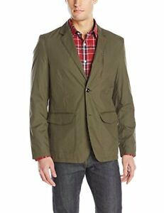 44R-Victorinox-Swiss-Army-Voyager-II-Piccard-Paper-Touch-Field-Jacket-Green-NWT
