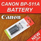 New BP-511A Battery for Canon EOS 10D 20D 30D 40D 50D 300D 5D Digital Camera