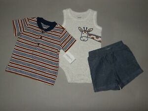 Baby Boy Clothes 18 Months Carter S 3 Piece Set See Details On Size 1 2 Off Ebay