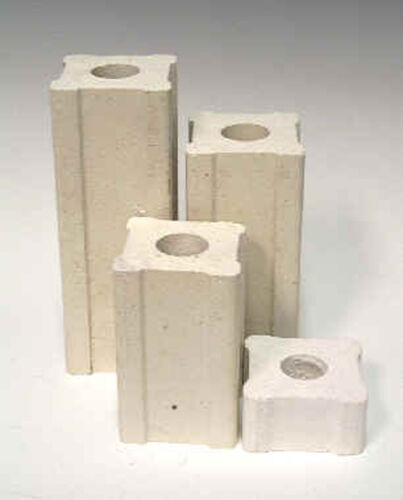 "Kiln Supplies Set of 4 1 inch x 4 inch "" Kiln Posts"